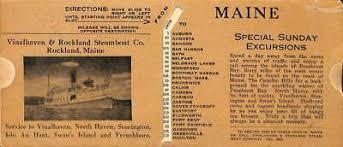 Nautical Chart Of Penobscot Bay Maine Camden Rockland