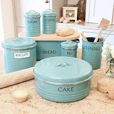 decor kitchen kitchen: another great canister set although i dont usually have fresh baked cake vintage kitchen decorkitschy