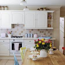 furniture for kitchens. Large Wooden Table And Chairs With White Kitchen Cabinets Furniture For Kitchens E