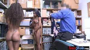 Young Ebony Teen Punished