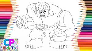 Lego Hulk Coloring Pages For Kids 18 How To Color Hulk Coloring