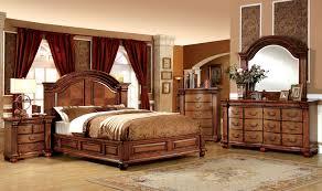 bellagrand antique oak bedroom set from furniture of america cm7738q bed coleman furniture