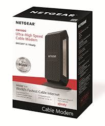 motorola ultra fast docsis 3 1 cable modem model mb8600. amazon.com: netgear cm1000 docsis 3.1 ultra-high speed cable modem. max download speeds of 1.0 gbps \u2013 certified for xfinity by comcast and cox (cm1000): motorola ultra fast docsis 3 1 modem model mb8600