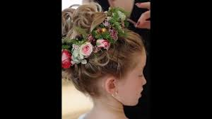 Woman Hair Style Pictures flower girl wedding hairstyles youtube 1159 by wearticles.com