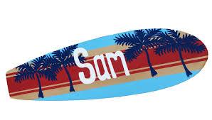 Surfing Bedroom Decor Seagypsy Surfboards