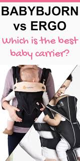 Babybjorn vs Ergo | All Things Mom & Baby / Pregnancy | Pinterest ...