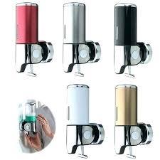 wall mounted shampoo dispensers mount pump pumps best of dispenser dispen