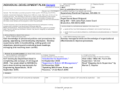Example Of A Personal Development Plan Sample Example Of A Personal Development Plan Shopgrat Basic Sample 3