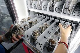 Crab Vending Machine Stunning Alibaba's Latest Open Sesame Live Crabs In Vending Machines