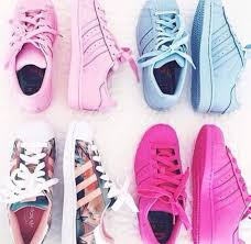 adidas shoes pink 2016. shoes pink floral blue adidas fashion cute sneakers summer superstar superstars rose baby 2016 8