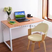 office computer table. Red Beech Color Wooden Office Computer Table Home PC Desk