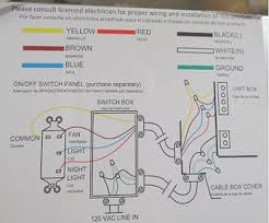 manufacturer stupidity doityourself com community forums lets start the rather strange way the power is run then go right to to the superfluous mis d yellow wire this is from a post in lighting