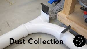 how to setup a dust collection system pvc pipe