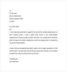 Administrative Assistant Cover Letter Medical