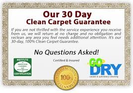 ry carpet cleaning guarantee