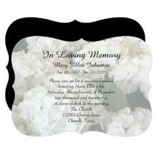 memorial service invitation memorial service invitations announcements zazzle ca