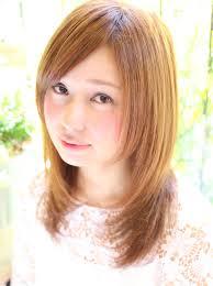 人気の前下がりのレイヤーヘアスタイル小顔に見える髪型の髪型 Stylistd