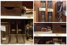 target knockoff gold desk accessories