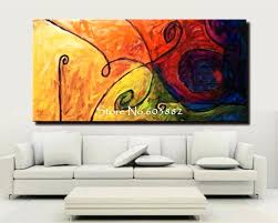 100 handmade large canvas wall art abstract painting on com1231 24x48jpg x2jpg extra australia