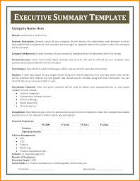 resume executive summary format example layout sample xianning it