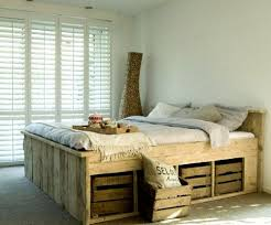 Wooden Bed Frames Country Style RusticCountry Style Bed