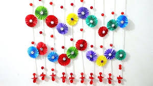 wall hanging ideas 9 wall decoration ideas with paper flowers wall hanging paper craft