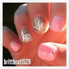 Gel Nails Designs Ideas 2015 valentines day manicure gel nails design