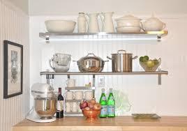 Kitchen Shelves Ikea Kitchen Shelves With Wooden Table Captivating Kitchen