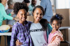 Image result for family volunteering