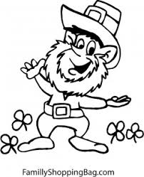 Small Picture Leprechaun Driving Car St Patricks Coloring Pages Free