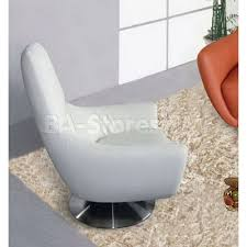 navis white italian leather accent chair dd furniture store