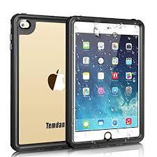 temdan ipad mini 4 waterproof case ipad mini 4 waterproof case with adjule tablet stand