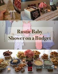 How to throw a rustic themed Baby Shower Brunch on a budget!! Click picture