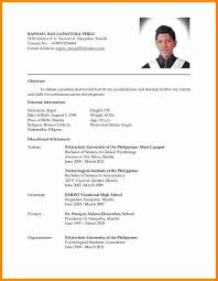 Updated Resume Templates Best Updated Resume Format 48 Ifest