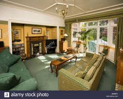 Houses Edwardian Arts And Crafts House Sitting Room Interior - Edwardian house interior