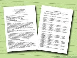 Words Made From Resume Elegant 40 Ways To Make A Resume Wikihow Cool Resume Unscramble