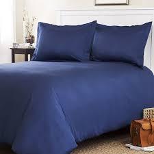 navy blue duvet cover