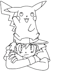 Free Printable Pikachu Coloring Pages For Kids