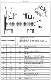 radio wiring diagram 2003 impala radio wiring diagrams online
