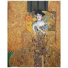 Kunstdruck auf Leinwand - Adele Bloch-Bauer I Gustav Klimt - Wanddeko,  Canvas