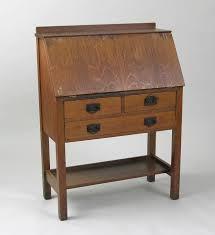 gustav stickley drop front desk ca 1912 1916