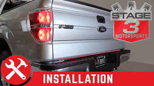 recon lighting led tailgate light bar installed on f  recon lighting led tailgate light bar installed on f150 26416