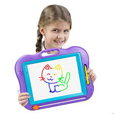 LOFEE Birthday Present for 2-6 Year Old Girl,Magnetic Doodle Board Gift Amazon.com: