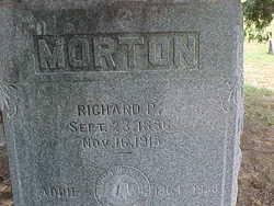 Richard P. Morton (1856-1915) - Find A Grave Memorial