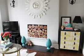 exquisite decoration decorative fireplace logs