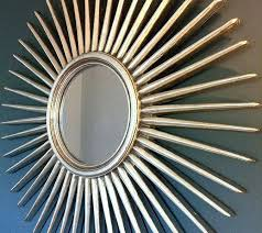 starburst wall mirror gold metal antique silver the forest co decor inspiration starburst wall mirror