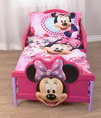 minnie mouse microfiber 3 piece toddler bedding set