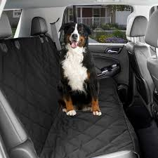 dog car seat cover waterproof protector with seat anchors head straps black com