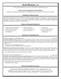 Er Registered Nurse Resume Sample. Sample Emergency Room Nurse ...