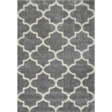 luna trellis grey 8 ft x 10 ft area rug